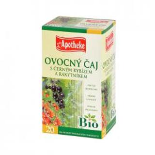 APOTHEKE Bio černý rybíz čaj  s rakytníkem n.s. 20x1,5g