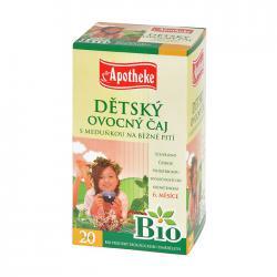 APOTHEKE Bio dětský čaj s meduňkou n.s. 20x2g