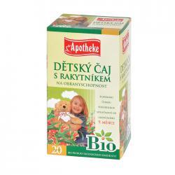APOTHEKE Bio dětský čaj s rakytníkem n.s. 20x1,5g