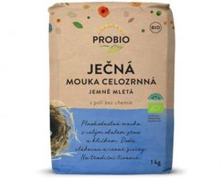 PROBIO Mouka ječná celozrnná jemně mletá 1kg Bio