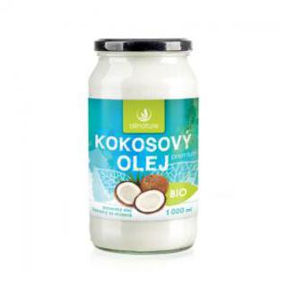 Allnature Kokosový olej panenský 1000 ml Bio
