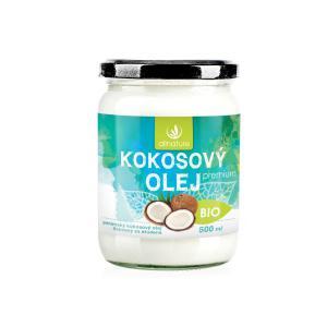 Allnature Kokosový olej panenský 500 ml Bio