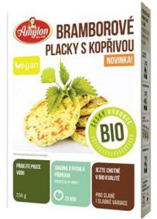 Amylon Bramborové placky s kopřivou 250g Bio