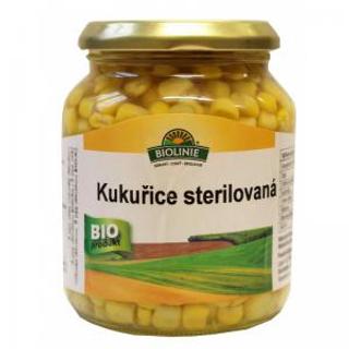 Biolinie Kukuřice sterilovaná 340g