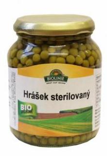 Biolinie Hrášek sterilovaný 350g