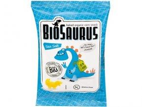 Biosaurus Kukuřičné křupky slané Junior Bio 50 g