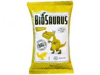 Biosaurus Kukuřičné křupky se sýrem Igor Bio 50 g