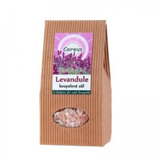 Cereus Levandule himálajská koupelová sůl 500g