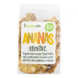 Country Life ananas kroužky Bio 100g