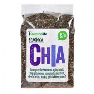 Country Life Chia semínka Bio 300 g