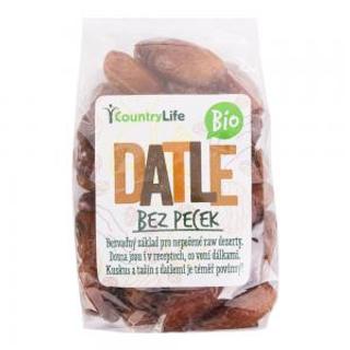 Country Life Datle bez pecek Bio 250g