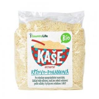 Country Life kaše rýžovo-pohanková instantní Bio 300g