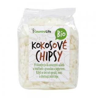Country Life kokosové chipsy nepražené Bio 150g