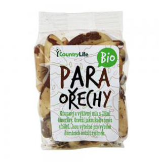 Country Life Para ořechy jádra celá Bio 100g