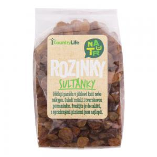 Country Life Rozinky sultánky 250 g