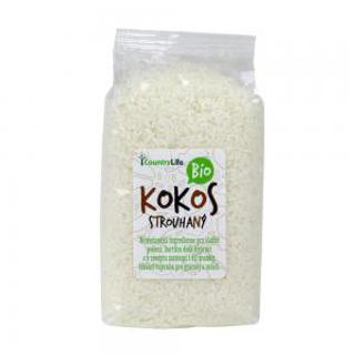 Country Life Kokos strouhaný nepražený 200 g Bio