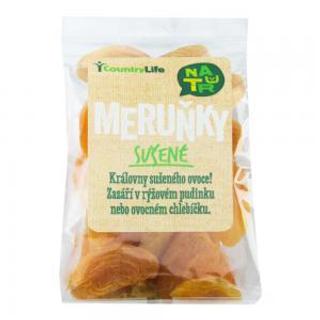 Country Life Meruňky sušené sířené 100g