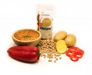 Damodara Instantní polévka Cizrnová s paprikou 38g BLP