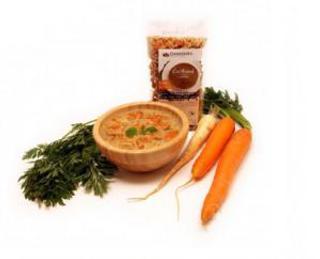 Damodara Instantní polévka čočková s mrkví 38g BLP