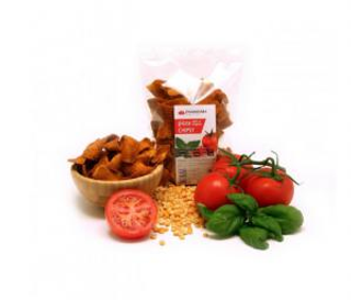 Damodara Pizza chipsy (rajče oregáno) 100g