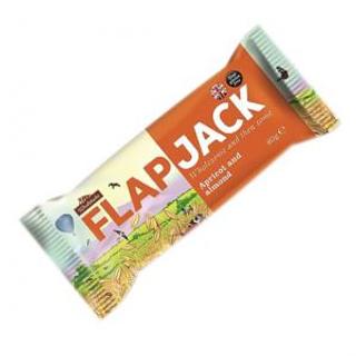 Wholebake Flapjack meruňka a mandle ovesná tyčinka 80 g BLP