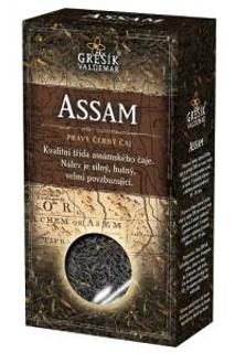 Grešík Čaje 4 světadílů černý čaj Assam 70 g