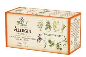 Grešík Alergin čaj Devatero bylin 20 x 1,2 g