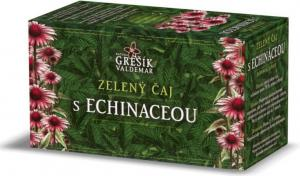 Grešík Zelený čaj s echinaceou 20 x 1,5 g