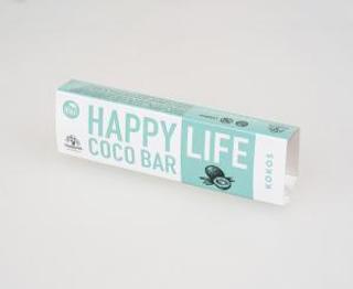 Happy Life Tyčinka kokosová 40 g Bio