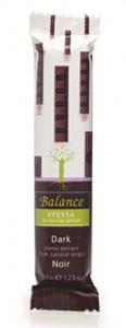 Balance Hořká čokoláda se stévií bez přidaného cukru 35g