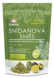 Iswari směs snídaňová konopný protein, lucuma bio 300 g