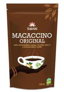 Iswari macaccino kakaový nápoj bio 125g