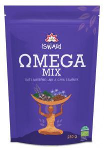Iswari Omega mix směs mletá semínka chia a hnědý len bio 250g