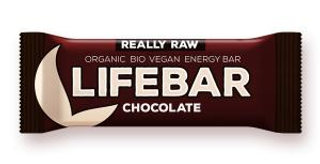 Lifefood Lifebar bio tyčinka čokoládová 47g