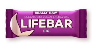 Lifefood Lifebar bio tyčinka fíková 47 g