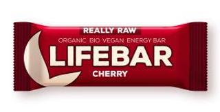 Lifefood Lifebar bio tyčinka třešeň 47g