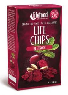 Lifefood Life Chips červená řepa 40 g BLP Bio