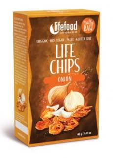 Lifefood Life Chips cibule 40 g BLP Bio