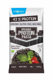 Maxsport Organic Protein Pasta 200 g černá fazole