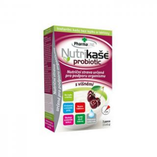 Mogador Nutrikaše probiotic s višněmi 180g (3x60g)