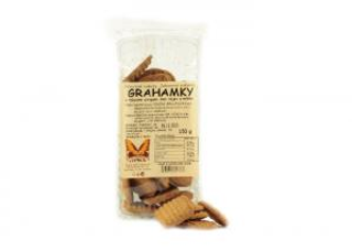 Natural Jihlava Grahamky bez cukru a vajec 150 g