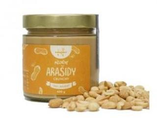 Navařeno Ořechové máslo arašídové s kousky crunchy 380 g