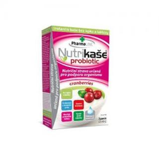 Mogador Nutrikaše probiotic cranberries brusinková 180g (3x60g)