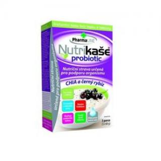 Mogador Nutrikaše probiotic chia a černý rybíz 180g (3x60g)