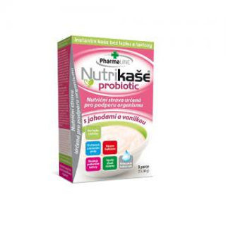 Mogador Nutrikaše probiotic s jahodami a vanilkou 180g (3x60g)