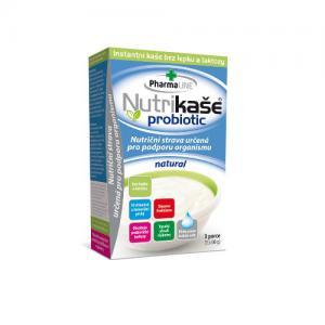 Mogador Nutrikaše probiotic natural 180g (3x60g)