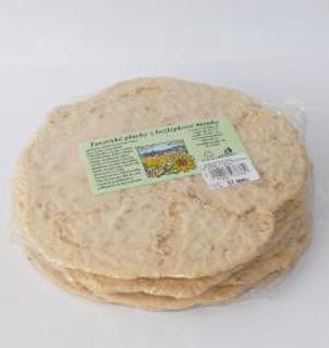 Švestka Chlebové placky z bezlepkové mouky 220g