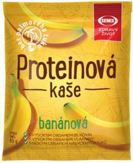 Semix Proteinová kaše banánová 65g