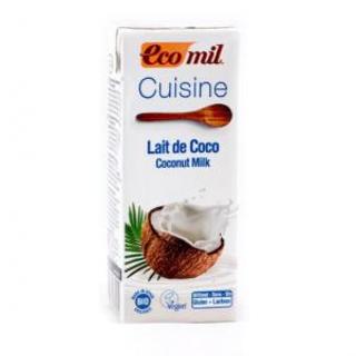 Smetana kokosová 200ml Bio Ecomil