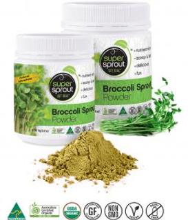 Super Sprout Lyofilizované výhonky z brokolice 80g Bio